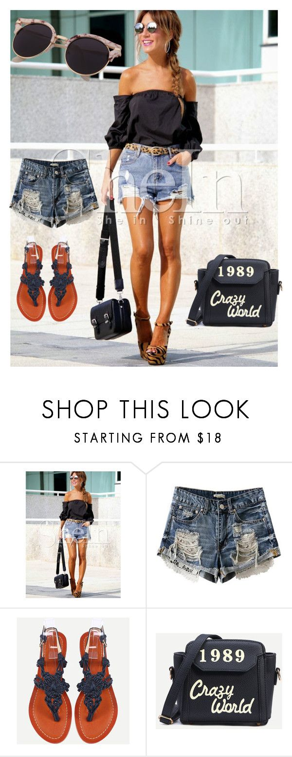"""Shein"" by kiveric-damira ❤ liked on Polyvore"