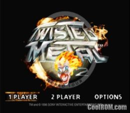 Classic PSX game: Twisted Metal 2 ROM (ISO) Download for Sony Playstation /  PSX - CoolROM.com   Twisted metal, Sony playstation, Twist