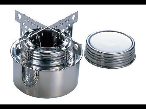 Tatonka Stainless Steel Alcohol Burner