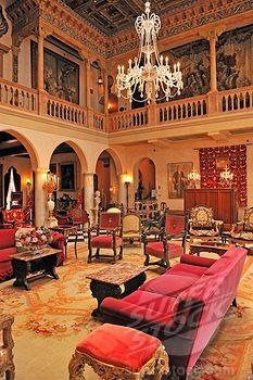 The Court Interior The Ringling Mansion Ca D Zan John And