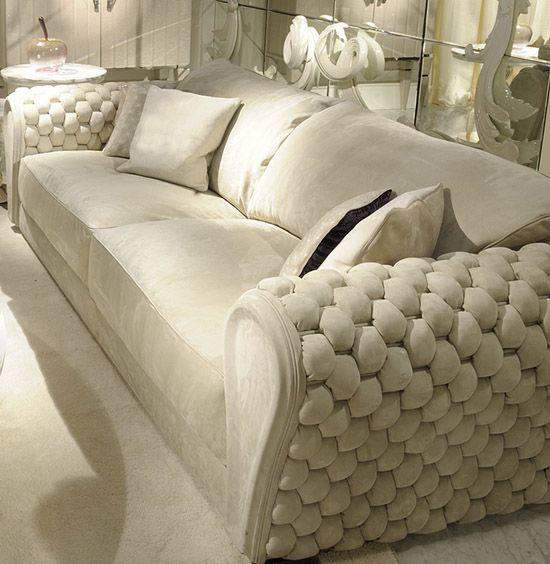Sofas WOVEN LEATHER SOFA ART GAR2400 Furniture