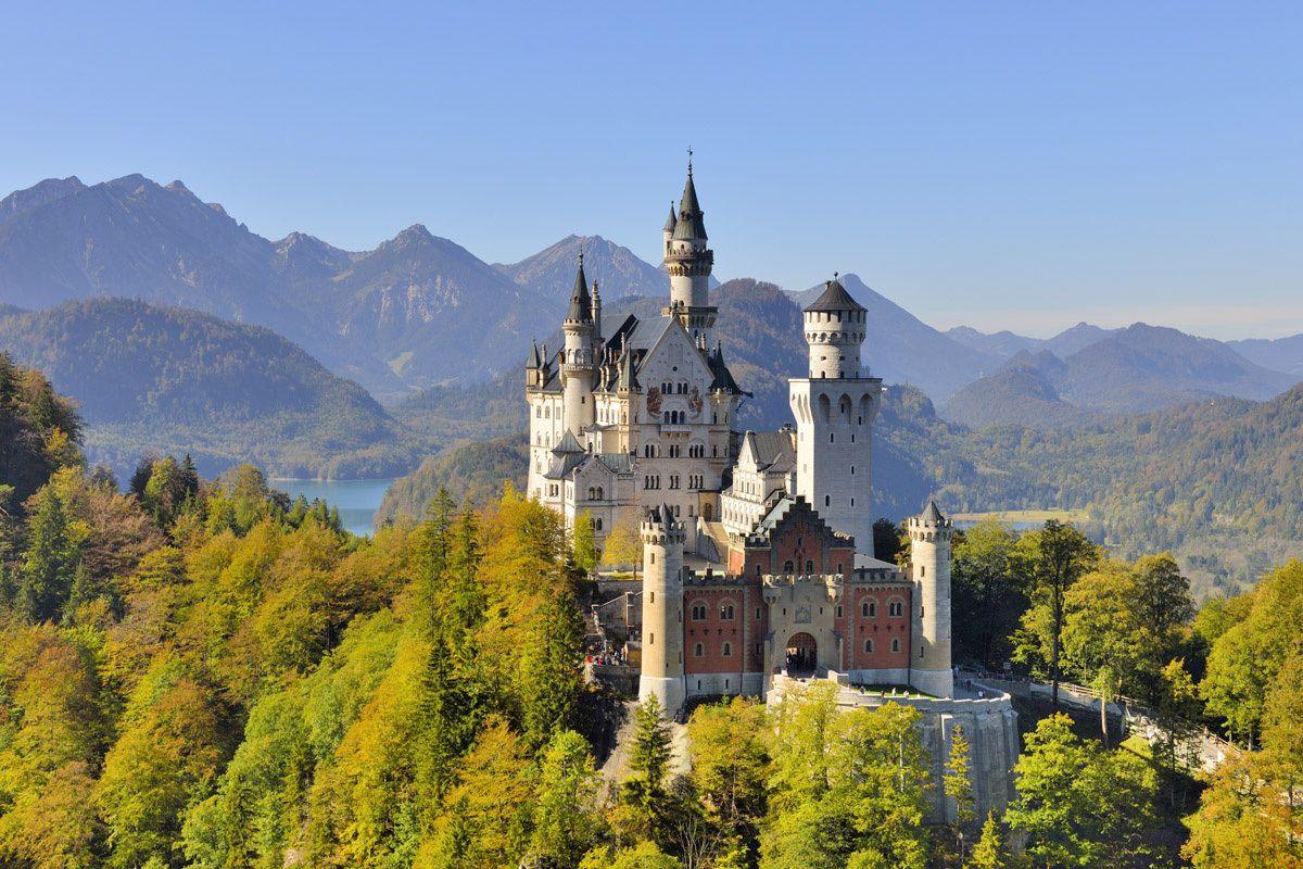 Castillo Neuschwanstein Baviera Alemania Le Manoir Hotel Particulier Pinede