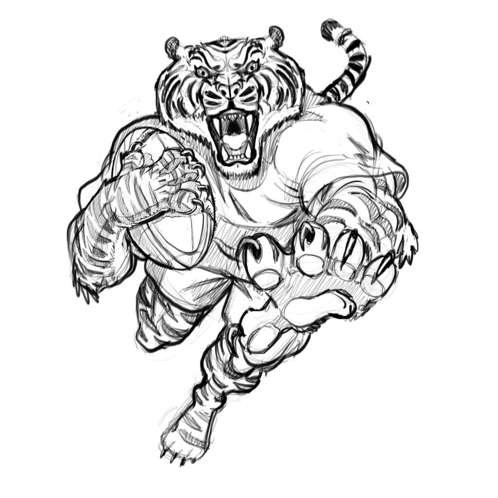 Christopher Doehling Dolimac Animal Drawings Animal Coloring Pages Rugby Art