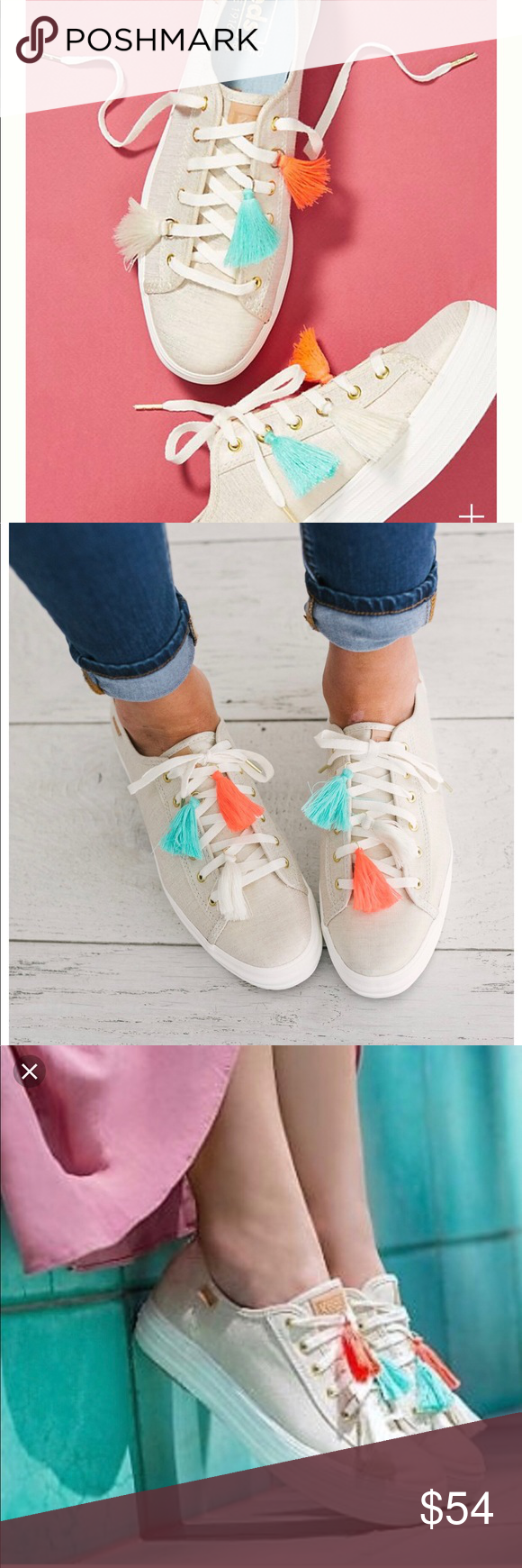 1906c1499120 Anthropologie Keds triple kick tassel sneakers Keds  mission hasn t changed  since their inaugural