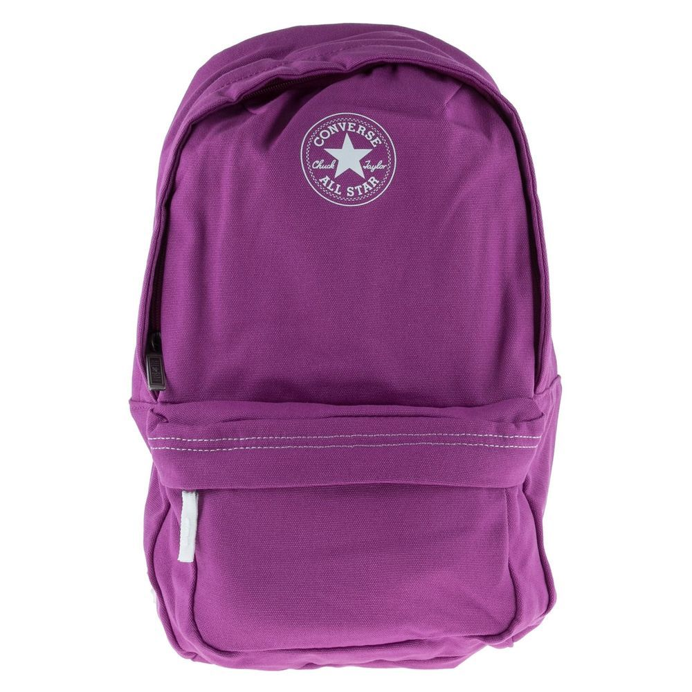 purple converse bag