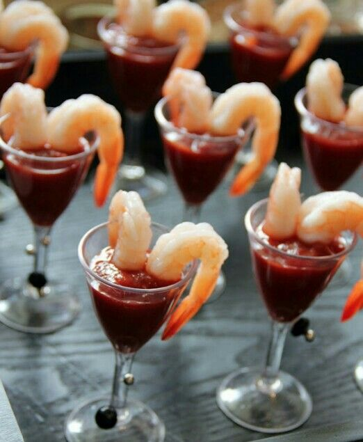 Cocktail Party Ideas Pinterest Part - 30: Mini Shrimp Cocktail - Wedding Ideas, Wedding Trends, And Wedding Galleries  - Inspirational Weddings