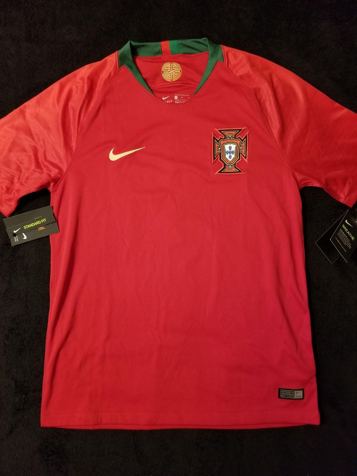 Nike 2018 Ronaldo World Cup Jersey Sz M In 2020 Ronaldo Jersey World Cup Jerseys Ronaldo Portugal Jersey