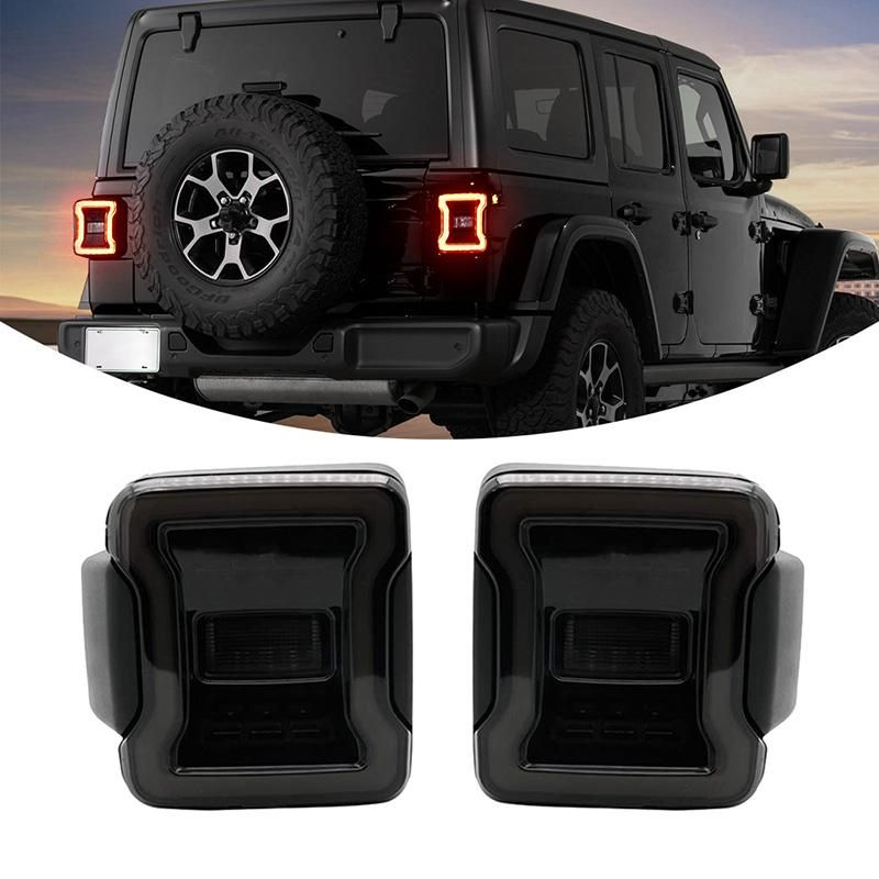 New Version Led Taillights For Jeep Wrangler Jl 2018 2019 Led