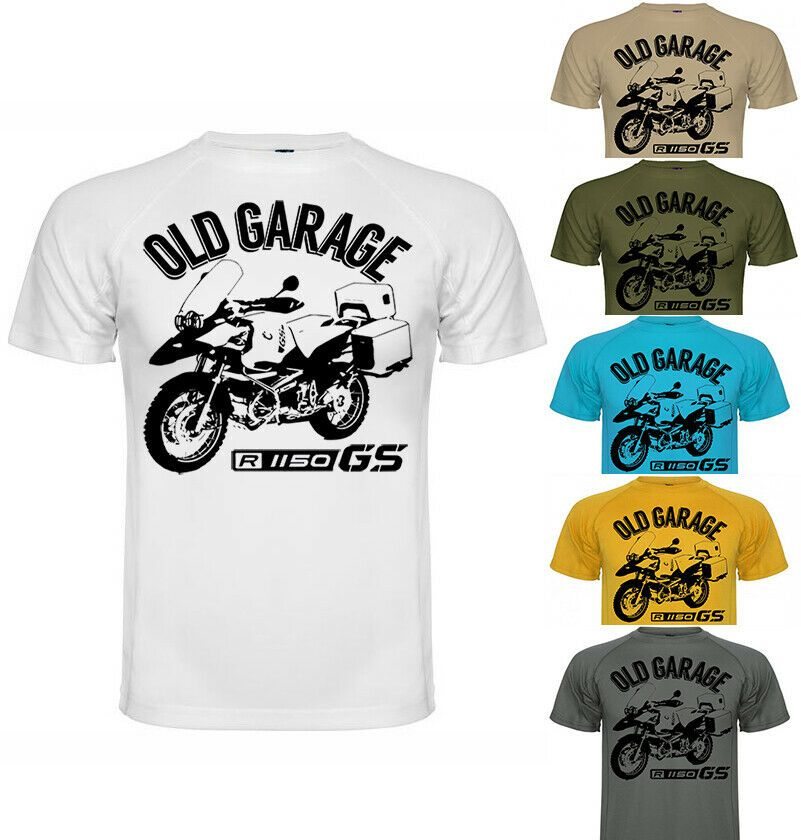 New BMW R1150 GS Style Motorcycle Printed T Shirt tee