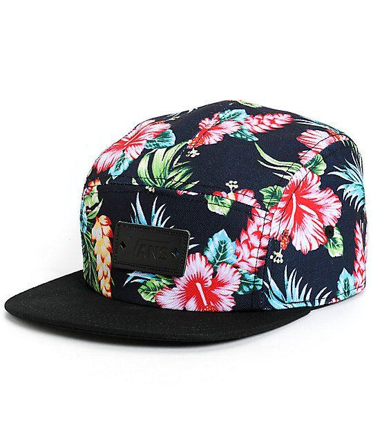 ff9b96431a4da7 Vans Hawaiian 5 Panel Hat in 2019 | Accessories | Hats, 5 panel hat ...