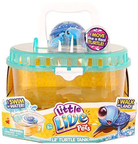 Little Live Pets Lil Turtle Tank Doll Little Live Pets Pet Turtle Moose Toys