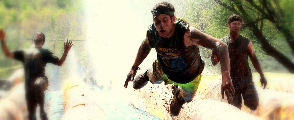Ok, so we are totally doing this!  Lets get training! The Dirty Dash, 5.5 miles with obstacles and lots of mud.  Watch the video!