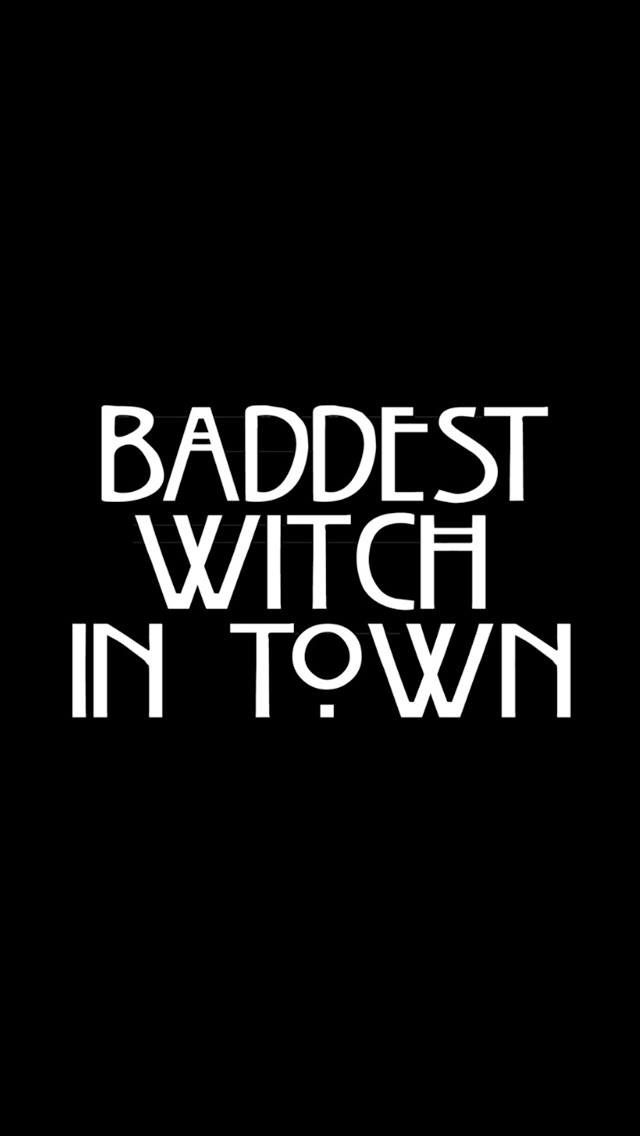 American horror story ~Baddest witch in town~ | Cricut in 2019