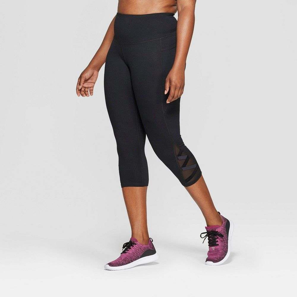 74dbbdd93585c Women's Plus Size Studio High-Waisted Leggings - C9 Champion Black ...