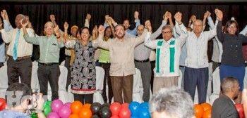 AlianzaPais juramenta candidatos; Andres L. Mateo sera candidato a diputado por el Distrito Nacional; también otras personalidades