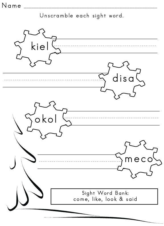 Sight Words Superheros Workbook- Activities, Word Worksheets and ...