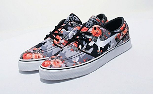 Nike Janoski Sb Floral