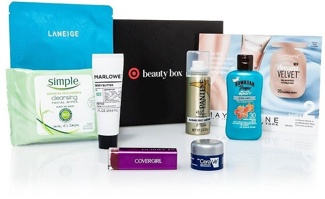 8-Piece Target April Beauty Box ($26 Value) $7.00 (target.com)
