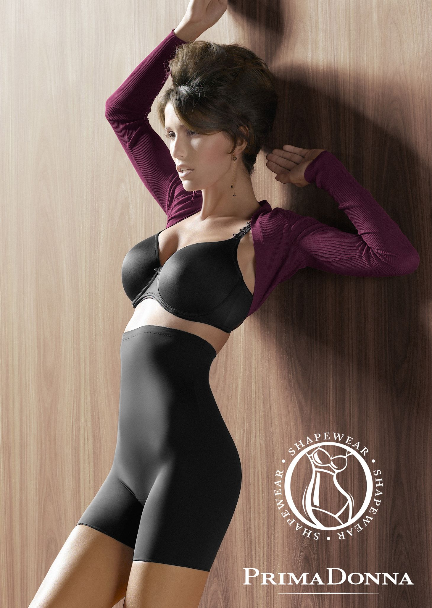 b60c65d358 PrimaDonna shapewear - Perle in Charcoal