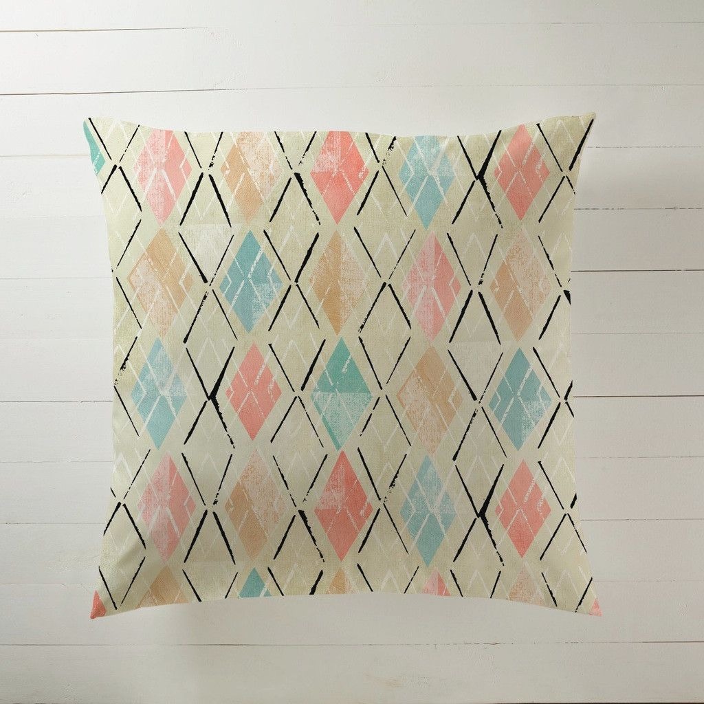 Pastel argyle grid products pinterest floor pillows and products