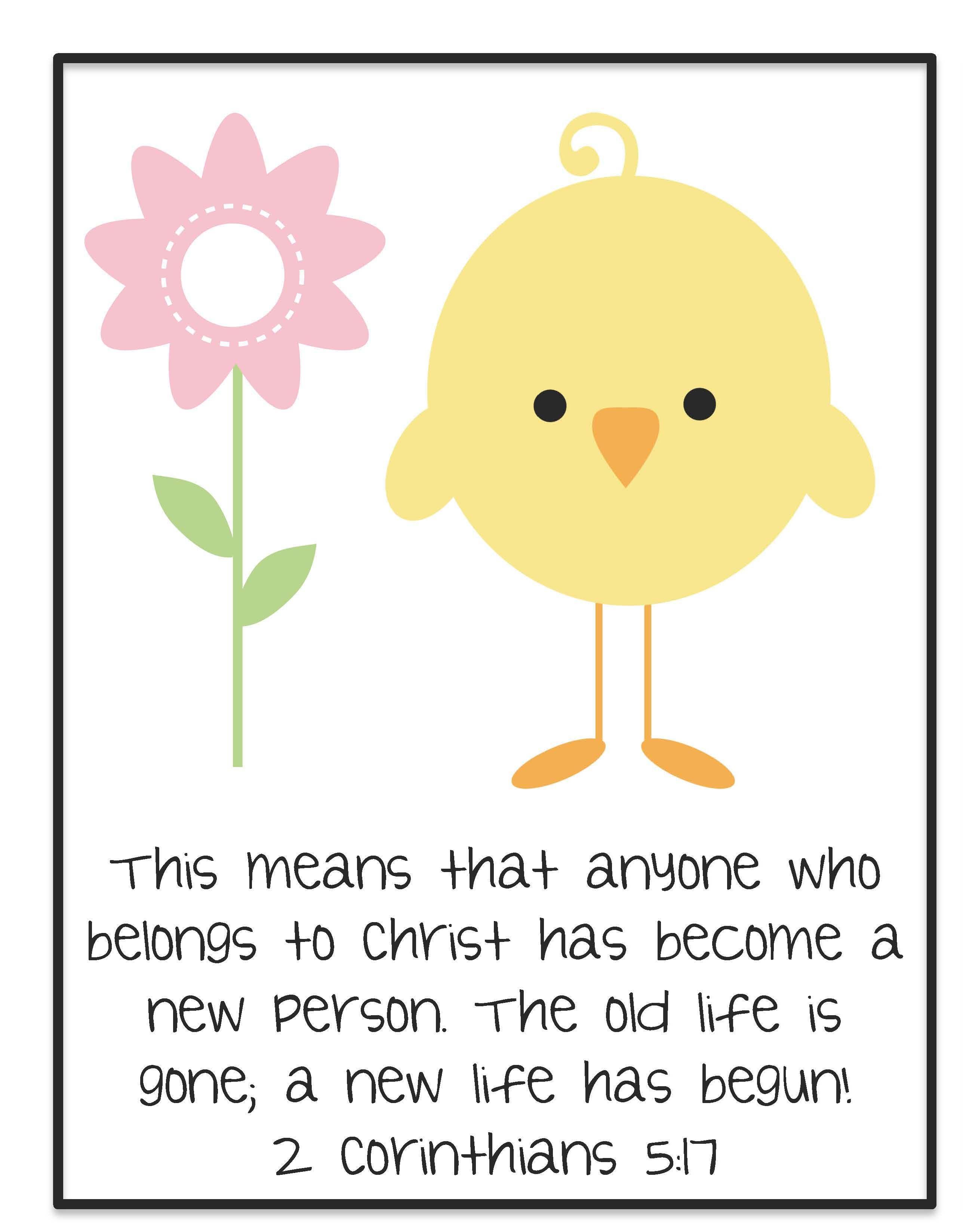 Preschool Easter Memory Verse Iheartchildren Blog