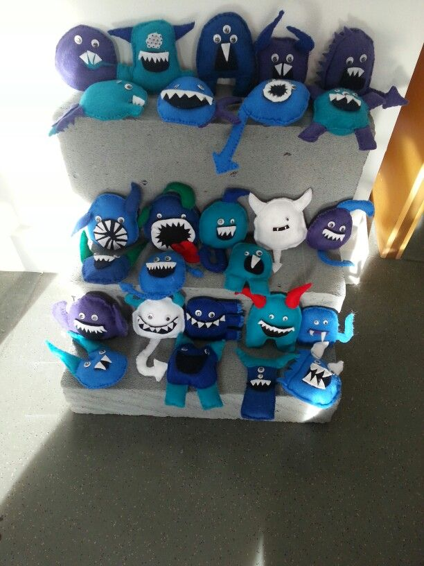 Monster madness project inspiration for year 7 textiles zuk nftige projekte schulprojekte - Schulprojekte ideen ...
