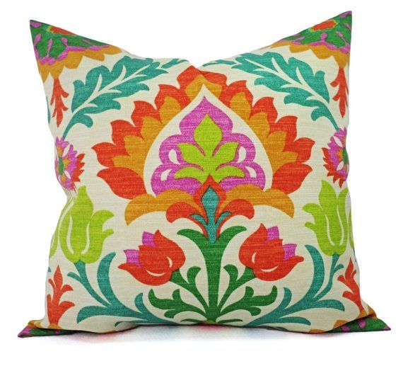 Two Orange Outdoor Pillow Covers Pillows Patio D