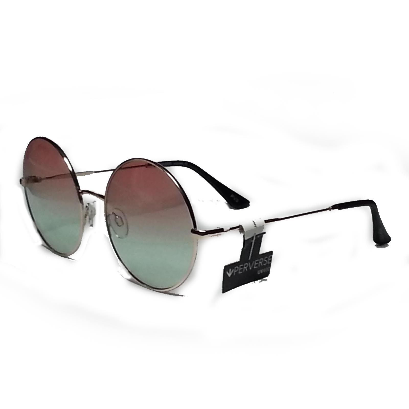 534221435c4bc6  ebay PERVERS women Round sunglasses Half and Half Monday Metal Frame UV400  Lens withing our