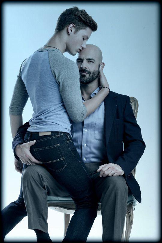 Toys gay men kiss img