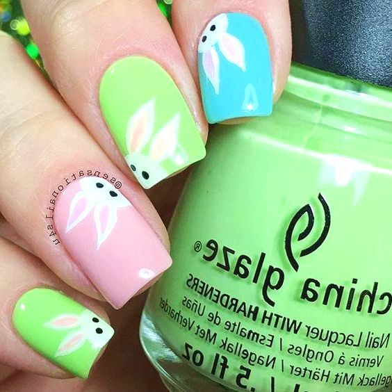 24 best spring inspired nail designs nail art nail art designs 24 best spring inspired nail designs nail art designs simple 2017 prinsesfo Choice Image