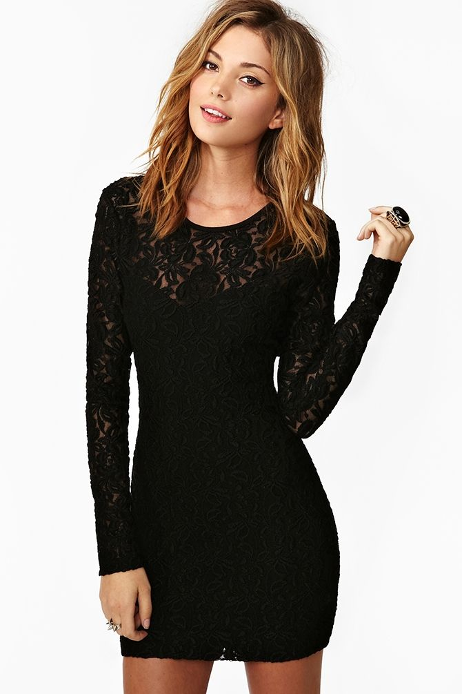 a3b6616649 black lace dress. concert black