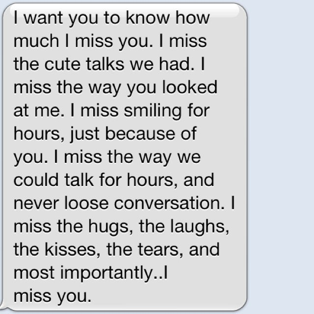 i miss you text for boyfriend