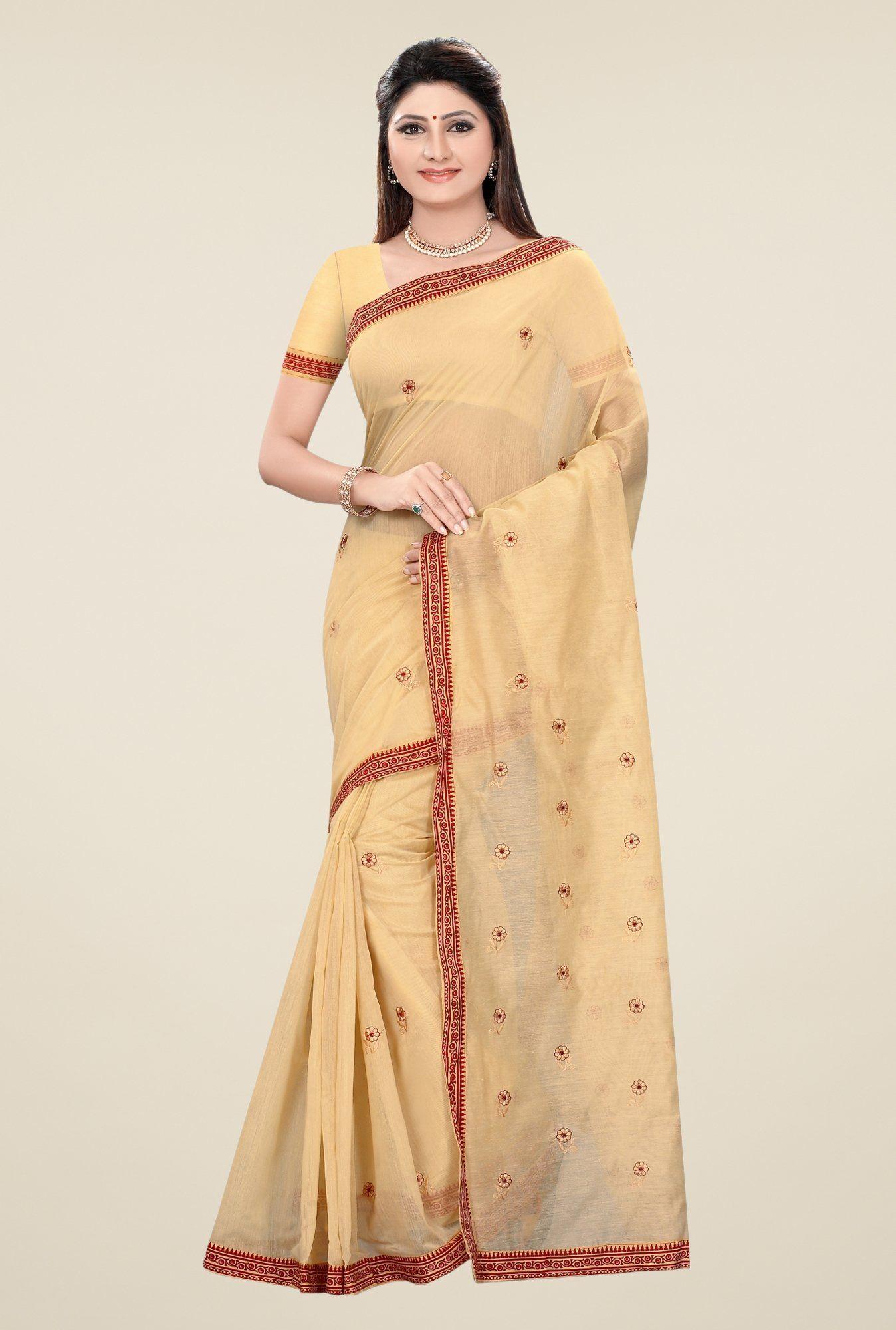 Yellow cotton saree for wedding saree wedding hot blouse pattu draping farewell