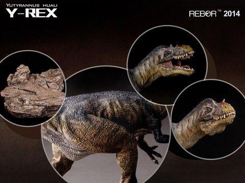 Rebor Yutyrannus huali (Y-REX) Dinosaur Model