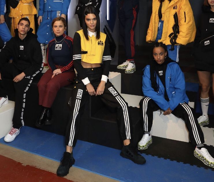 kendall jenner attends adidas originals by olivia oblanc