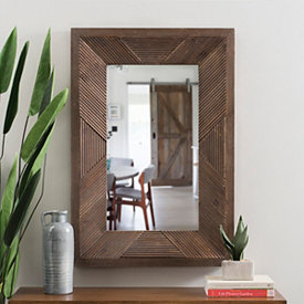 Mirror | Decorative & Framed Mirrors | Kirklands | Wood ... on Floor Mirrors Decorative Kirklands id=65094