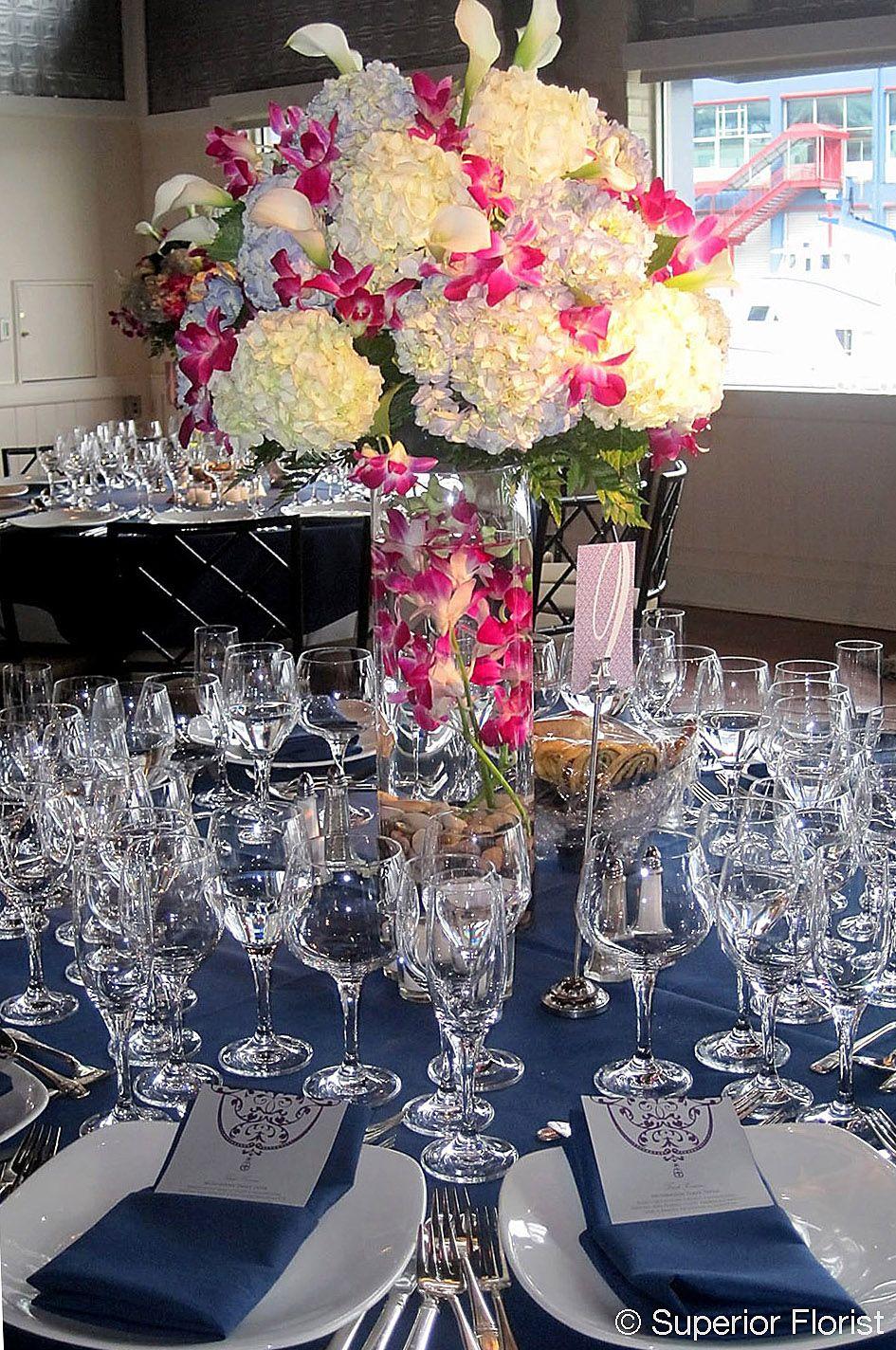 superior florist centerpieces large arrangement of white and rh pinterest com