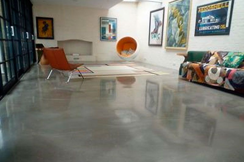 Residential Floors Polished Concrete