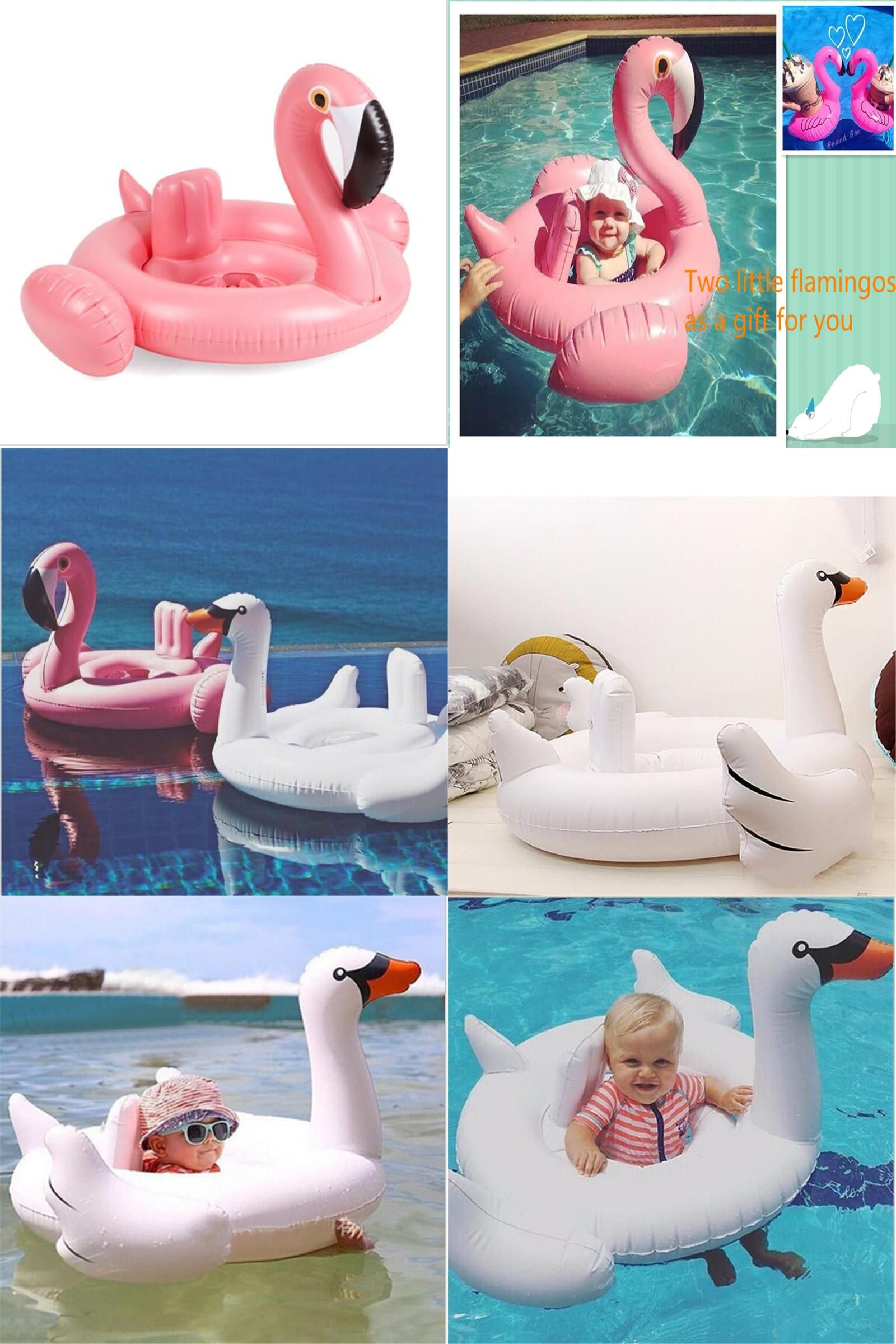 Visit to Buy] Inflatable baby Seat FloatBaby Swimming Float