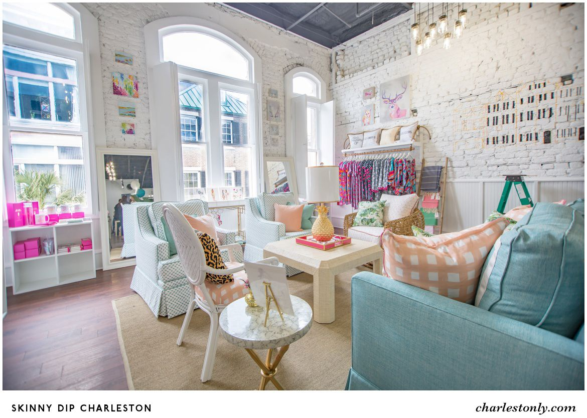 charleston home design%0A We custom made a whole room of Society Social furniture just for the brand  new shop  Skinny Dip Charleston  and it u    s landed just in time for thei