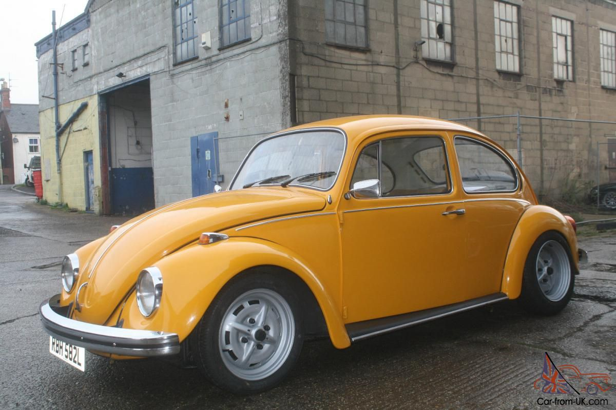 volkswagen gt beetle 1973 1600 lemon yellow bugs beetle vw rh pinterest com