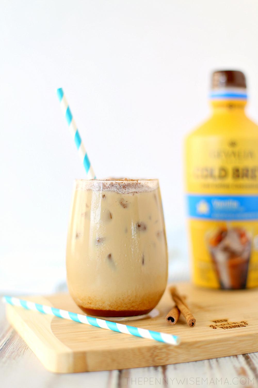 Easy Make At Home Cinnamon Vanilla Latte Chocolatecoveredcoffeebeans Latte Recipe Iced Vanilla Latte Recipe