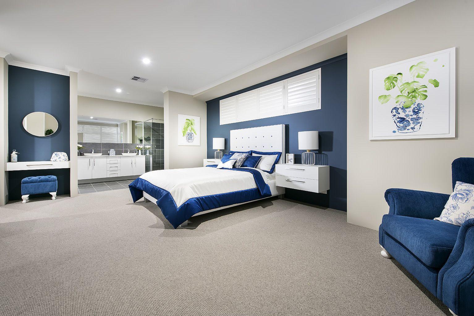 navy blue and beige master bedroom decor bedroom design rh pinterest com