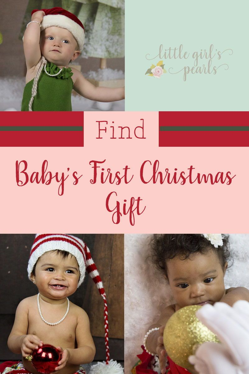 So many cute ideas for baby's first Christmas gift from ...