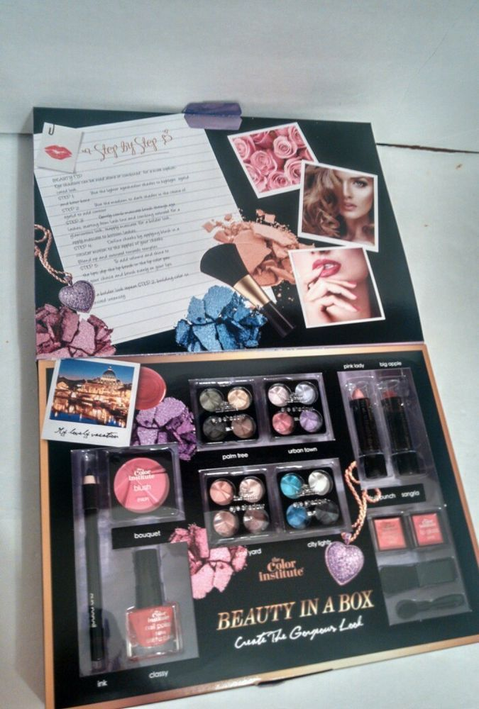 The Color Insute Beauty In A Box Make Up Gift Set By Markwins Cosmetics