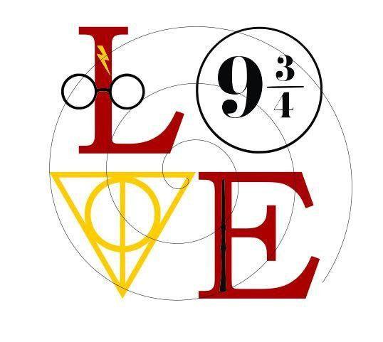 Download Harry Potter - L.O.V.E (Version 2) - SVG PNG- File Only ...