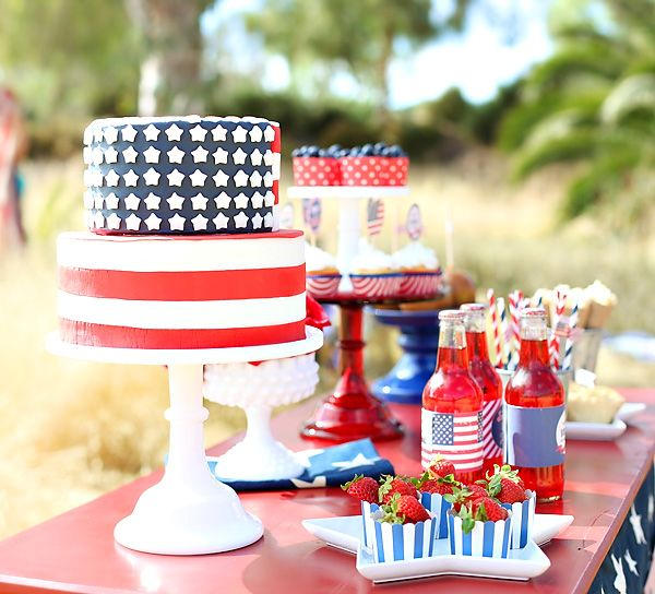 Happy Birthday America 4th Of July Picnic A Glorious Fourth Us