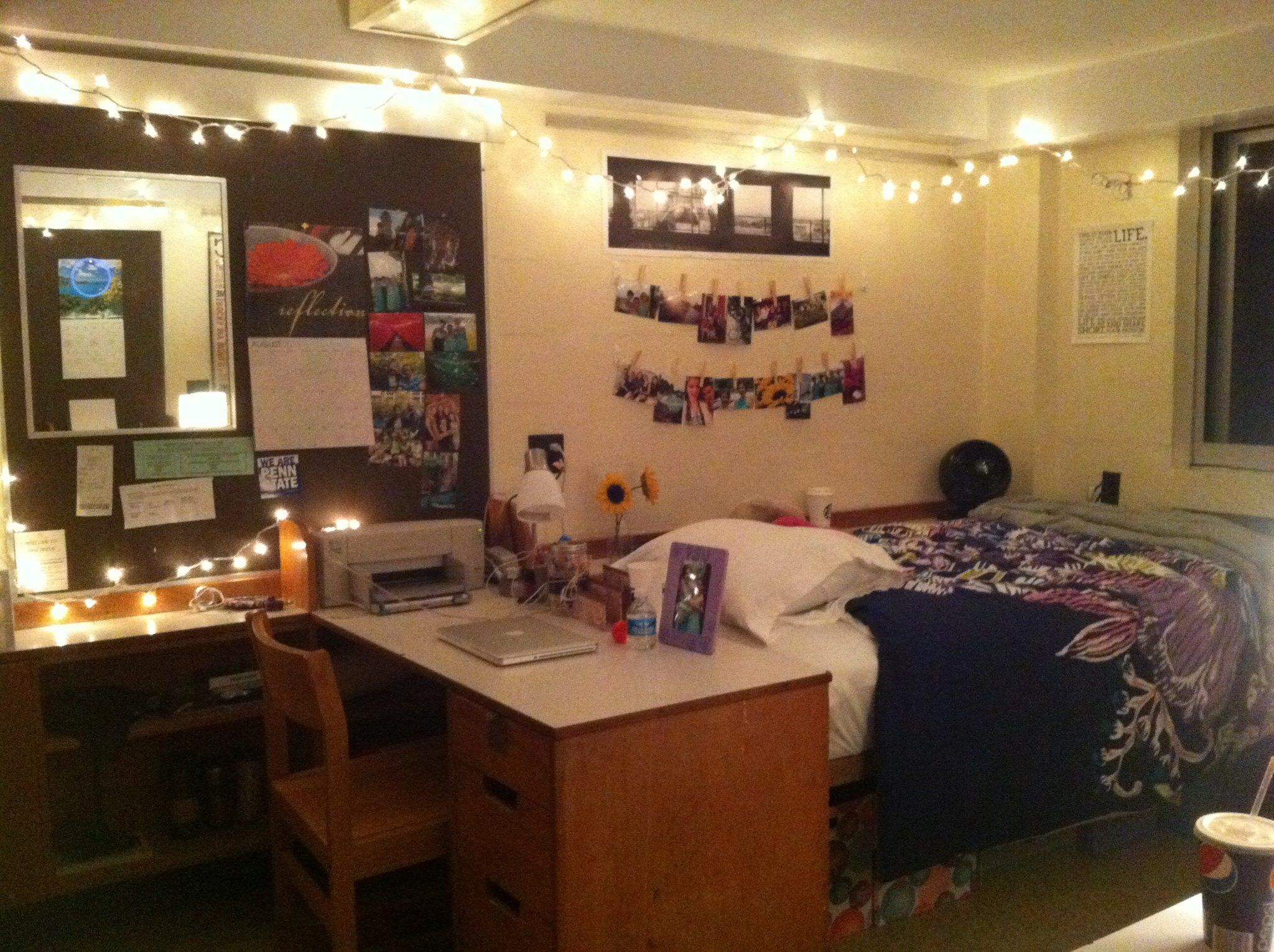 East Halls Dorm Room At Penn State