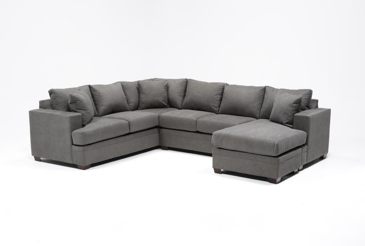 kerri 2 piece sectional w raf chaise home furnishing living room rh pinterest com