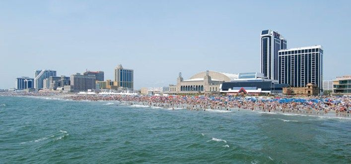New Jersey Beaches Boardwalk Ac Beaches And Boardwalk New Jersey Beaches City Beach Atlantic City